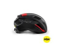 Шлем Met Vinci MIPS Black Red | Matt
