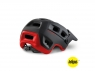 Шлем MET Terranova MIPS Black Red | Matt Glossy
