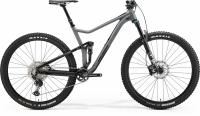 Велосипед MERIDA 2021 ONE-TWENTY 700 MATT GREY/GLOSSY BLACK