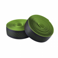 Обмотка руля Merida Bartape Soft W Black w Green dots 2100mm 30mm