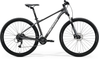 Велосипед MERIDA 2021 BIG.NINE 60-2x MATT ANTHRACITE(SILVER)