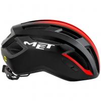 Шлем Met Vinci MIPS Black Shaded Red | Glossy