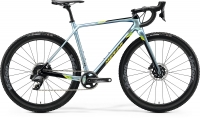 Велосипед MERIDA 2020 MISSION CX FORCE EDITION GLY SPARK BLUE/BK(LIME)
