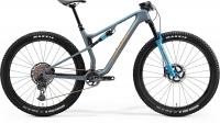 Велосипед MERIDA 2021 NINTY-SIX 8000 MAT STEEL BLUE(BROWN)