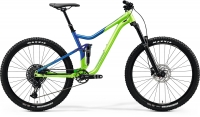 Велосипед MERIDA 2020 ONE-FORTY 400 LIGHT GREEN/GLOSSY BLUE
