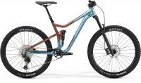 Велосипед MERIDA 2021 ONE-FORTY 600 SILK BRONZE/BLUE