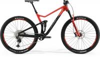 Велосипед MERIDA 2021 ONE-TWENTY 3000 BLACK/GLOSSY RACE RED