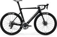 Велосипед MERIDA 2020 REACTO DISC 9000-E GLOSSY BLACK/SILK BLACK