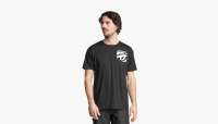 Футболка RACEFACE RF 8 Bit Pocket SS Tee-Black 2020г