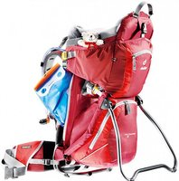 Рюкзак Deuter Kid Comfort II цвет 5560 cranberry-fire
