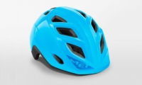 Шлем детский MET Genio Cyan | Glossy