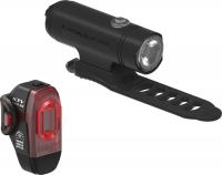 Комплект світла Lezyne CLASSIC DRIVE / KTV PRO PAIR Чорний матовий/Чорний 500/75 люменівів Y13