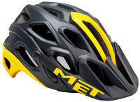 Шлем велосипедный MET LUPO  BLACK/YELLOW