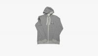 Толстовка RACEFACE RF Crest Zip Up Hoody-Grey 2020г