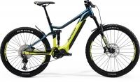 Велосипед MERIDA 2021 eONE-SIXTY 500 TEAL BLUE/LIME