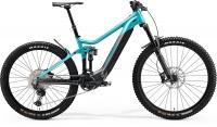 Велосипед MERIDA 2021 eONE-SIXTY 700 GLOSSY MET TEAL/ANTHRACITE