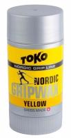 Воск Tоkо Nordlic GripWax yellow 25g