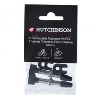Ниппеля на бескамерку х2 Hutchinson LOT DE 2 VALVES TUBELESS 42 MM