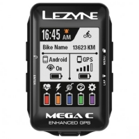 Компьютер Lezyne MEGA C GPS SMART LOADED Черный Y13