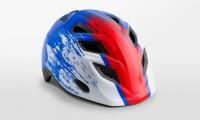 Шлем MET Elfo Blue Red Hero/Glossy