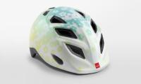 Шлем MET Genio Iridescent White Flowers| Glossy