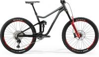 Велосипед MERIDA 2021 ONE-SIXTY 700 GREY/SPARKLING BLACK