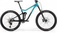 Велосипед MERIDA 2021 ONE-SIXTY 700 METALLIC TEAL/BLACK