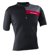 Велофутболка Race Face PODIUM JERSEY - short sleeve BLACK/RED