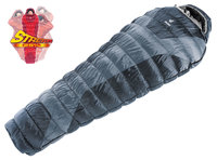 Спальный мешок Deuter Exosphere -8° SL цвет 4140 silver-anthracit правый