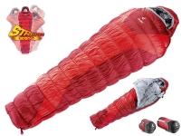 Спальный мешок Deuter Exosphere -4° цвет 5520 1 fire-cranberry левый